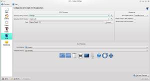 Configuration settings for GTK+